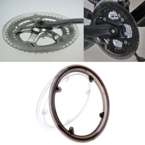 MTB Bicycle Crankset Cap Plastic Chain Wheel Cover 4 Holes Protective Guard New