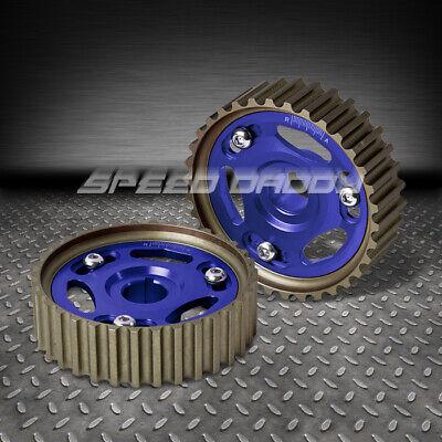 Honda//Acura B-Series Engine DOHC Aluminum Anodize Adjustable Cam Gear Blue