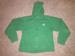 first rate 22a45 e3935 Details about Chicago Cubs Antigua Green St Patrick's Full Zip Hoodie  Sweatshirt - Women's L