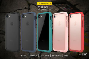 sports shoes de739 6c379 Details about RhinoShield CrashGuard Bumper Case for iPhone X, XS, 8, 8  Plus, 7, and 7 Plus