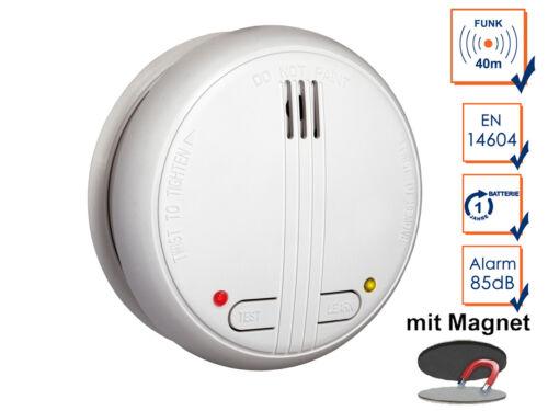Incendie Détecteur incendie, support magnétique Ceinturon ci détecteurs de fumée incl