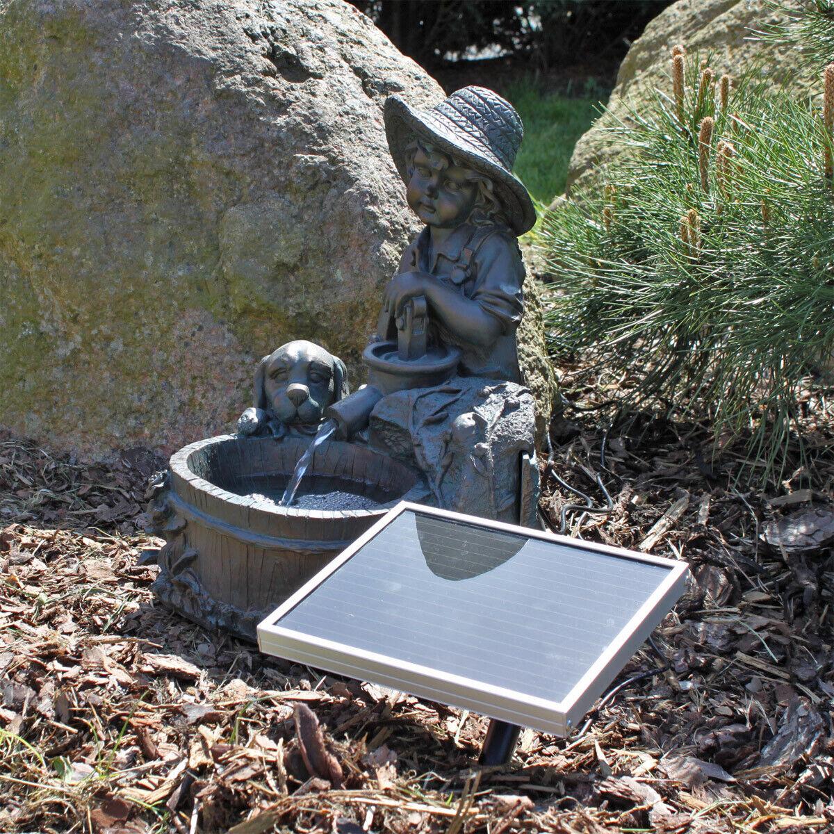 Clgarden solar surtidor nsp5 fuente pozo solar pozo jardín Pozo