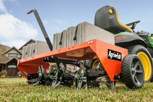 Lawn Aerator For Sale >> Plug Aerator Tow Behind Lawn Groomer Tractor Hitch Pull Commercial Yard Spike
