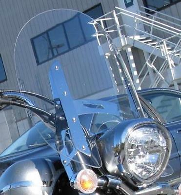"""YAMAHA 1300 V-STAR 2007-UP  18"""" x 23"""" CLEAR REPLACEMENT WINDSHIELD"""