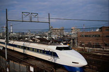 788090 The Shinkansen Or Bullet Train Kyoto Japan A4 Photo Print