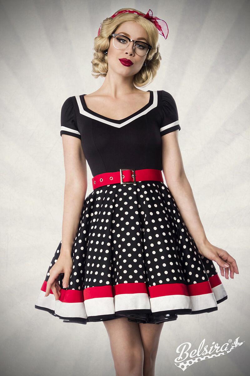 Vintage Petticoat Kleid mit Punkten