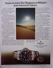 page de publicité    MONTRES  ROLEX   en 1980 ref. 42013