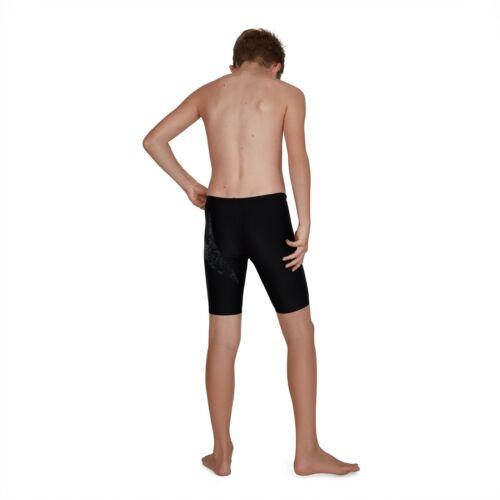 BoomStar Splice Noir Gris Endurance Shorts de bain Trunks S20 Speedo Garçons Jammers