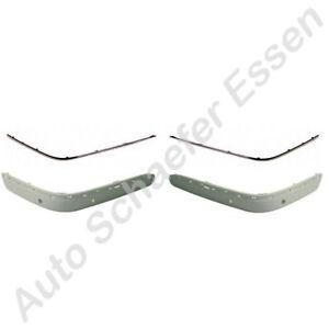 Mercedes-E-Klasse-W210-1999-bis-2002-Blenden-Chromleisten-vorn-PDC-Stossstange