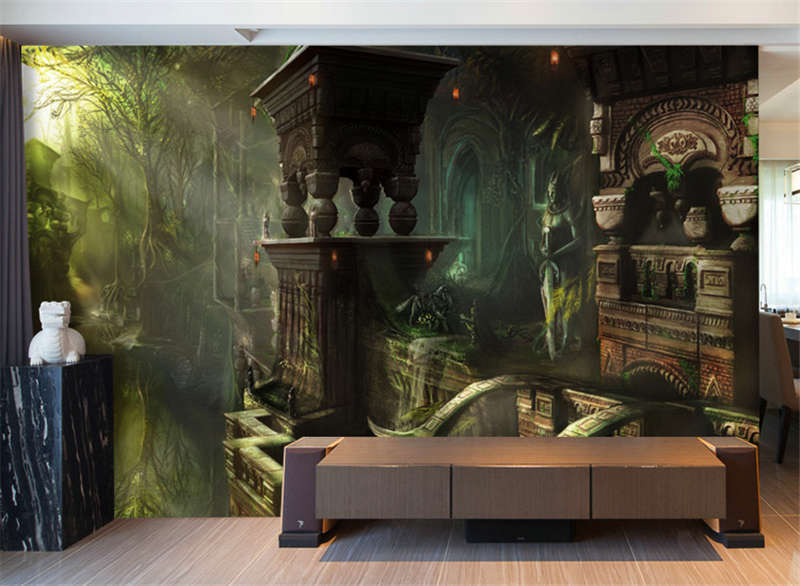 City Of The Ancients Full Wall Mural Photo Wallpaper Print Kids Home 3D Decal