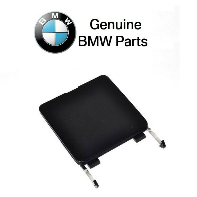 BMW e34 Tow Hook Eye Cover Rear Bumper hole flap trim panel 5-Series 51121944539
