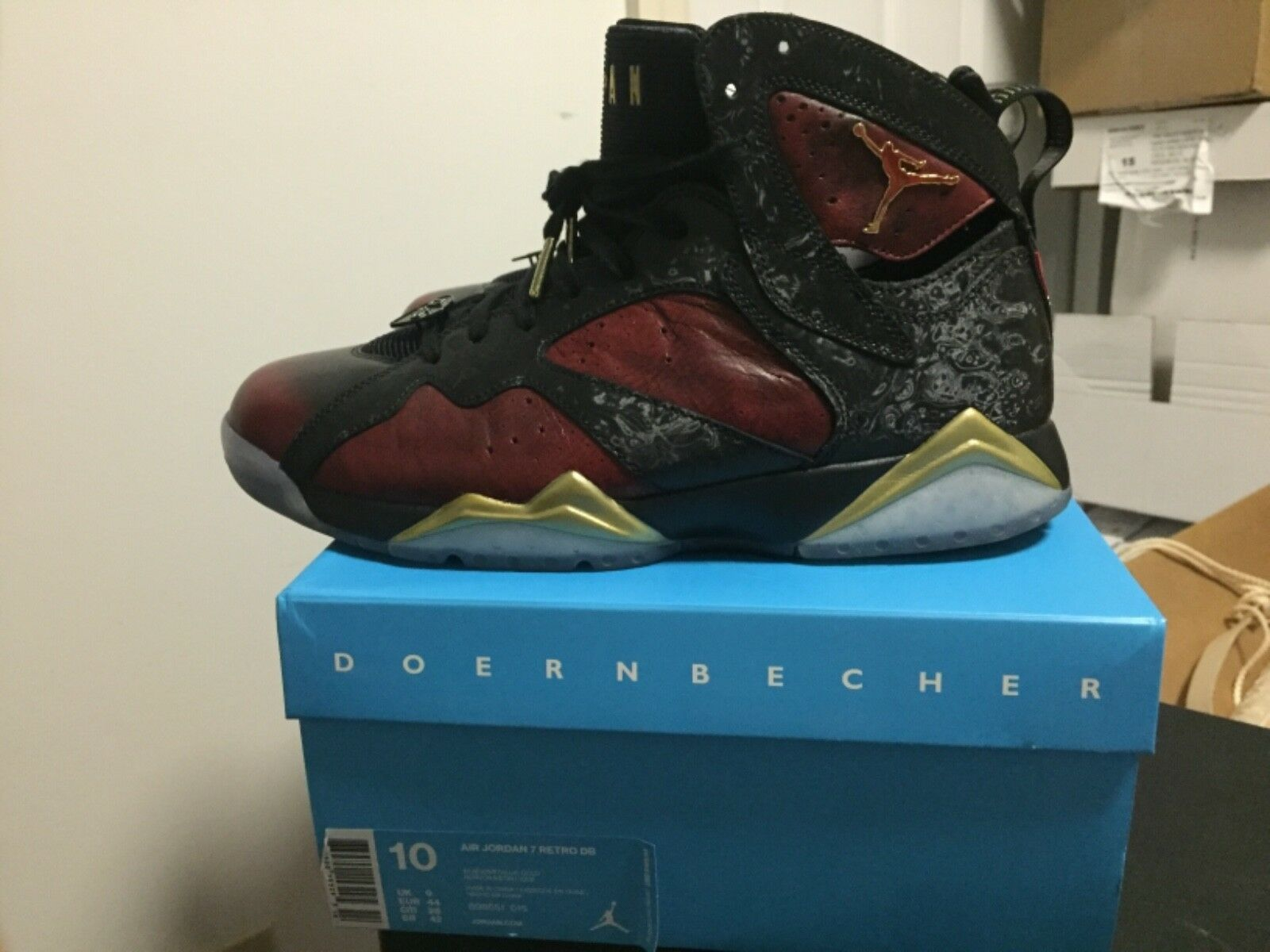 sports shoes 396c1 6465a italy air jordan 7 sz 10 40e85 0a8fe