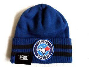4590ffa3e01 BLUE JAYS Toronto Blue BEANIE TUQUE Hat OSFA Baseball MLB Canada ...