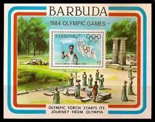 BARBUDA 1984 MNH SS, Sports, Olympic Torch