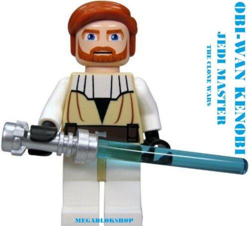 LEGO STAR WARS OBI WAN KENOBI JEDI BEN KENOBI NEW FROM SETS 7676 7753 7931