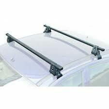 Mont Blanc Roof Rack Bars Rack Fits Vauxhall Zafira 1998-2004 without Rails