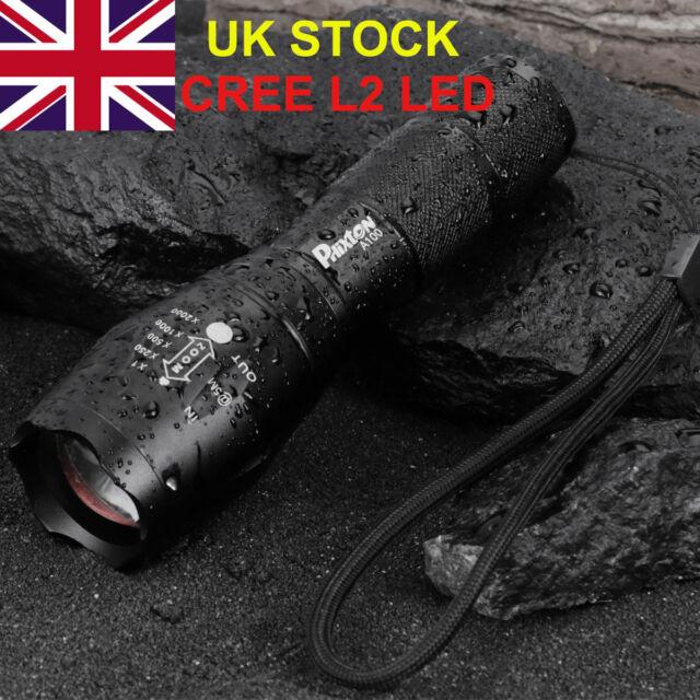20000lm Genuine Shadowhawk X800 Tactical Flashlight L2 LED Military Torch G700
