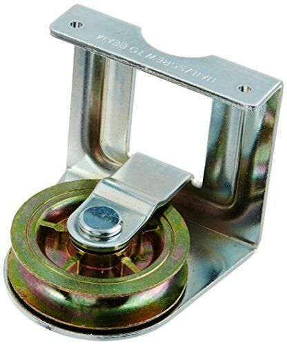 """Stanley National Hardware 3221BC 2/"""" Zinc Plated Joist Mount Single Pulley"""