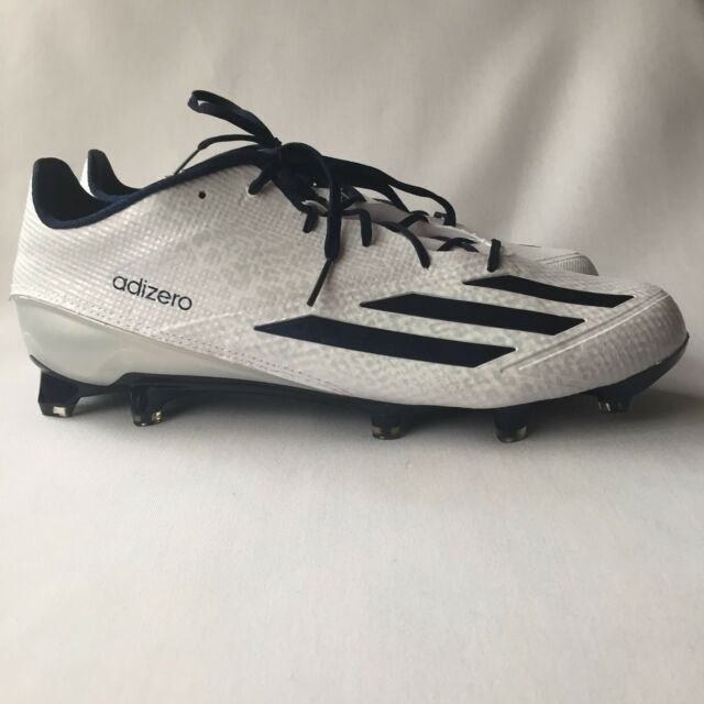 573d3c08c999cd Adidas Adizero 5 Star 5.0 Men s Football Cleats AQ8737 White Navy Size 12.5