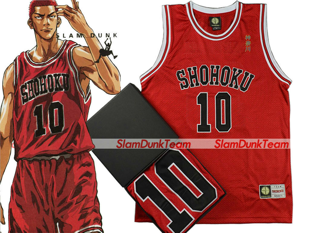 SLAM DUNK Cosplay Costume Shohoku Basketball Team Sakuragi Swingman Jersey R