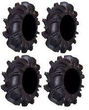 Full Set of Gorilla Silverback 28x10-12 (6ply) ATV Mud Tires (SET OF FOUR TIRES)
