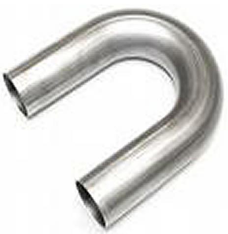 """316 Marine Grade Stainless Steel 180 Degree Mandrel Bend 50.8mm 2/"""" 51mm 2D"""