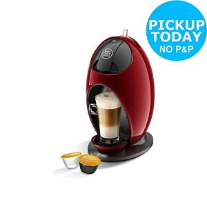 nescafe dolce gusto jovia manual coffee machine red from. Black Bedroom Furniture Sets. Home Design Ideas