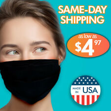 Face Mask Double Layer Reusable Mouth Cover Protection Carbon Filter Washable ??