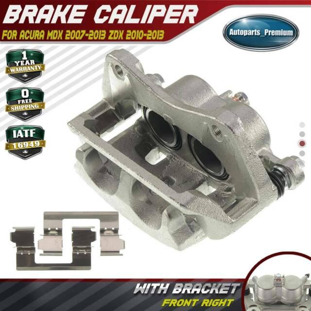 New Brake Caliper w/ Bracket for Acura MDX 07-13 ZDX 10-13 ...