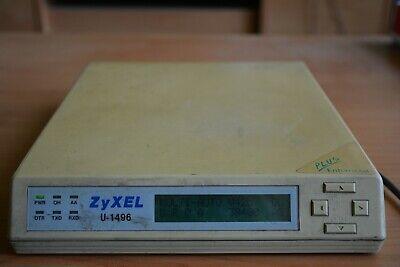 NEW! U1496E Intelligent Modem//Fax//Voice U-1496E Zyxel