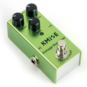 Kmise-Mini-Guitar-Effects-Pedals-Single-Vintage-Overdrive-DC-9V-True-Bypass