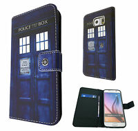 Doctor Who Tardis Case Flip Cover For Samsung Galaxy S6 A3 A5 -2015 /HTC ONE M9