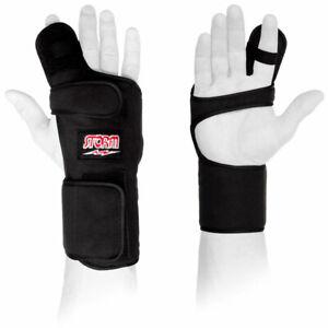 Storm-Xtra-Hook-Bowling-Ball-Handgelenkstuetze-rechtshand-schwarz