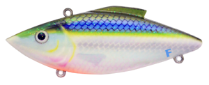 Rat-L-Trap Floating Lipless Crankbait 1//3oz FR260 Blue Shiner Fishing Lure