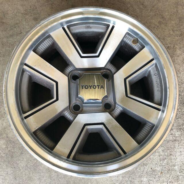 """1982 - 1986 Toyota Supra Celica Wheel Rim Factory Machined 14x7"""" OEM 69144 + Cap"""