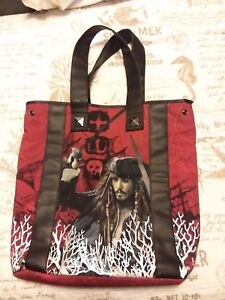 Pirates-of-the-Caribbean-On-Stranger-Tides-Beach-Bag-Purse-Johnny-Depp-Disney