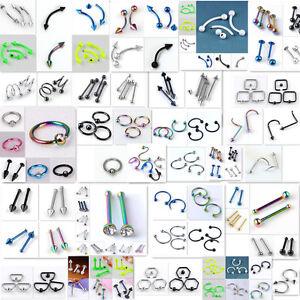 Steel-Rivet-Hoop-Twist-Barbell-Eyebrow-Rings-Earring-Lip-Ring-Piercing-Wholesae