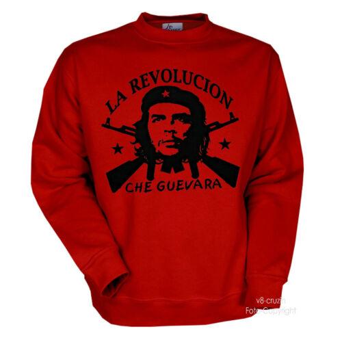 2001 Che Guevara Cuba Rivoluzione Felpa Pullover