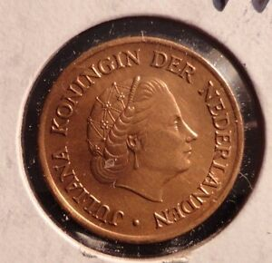 CIRCULATED-1975-5-CENT-NETHERLANDS-COIN-72216