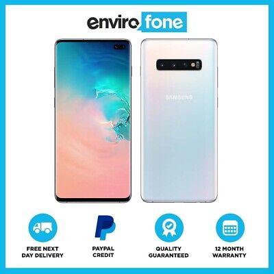 Samsung Galaxy S10 Plus 128GB 512GB 1TB SIM Free Unlocked Refurbished Smartphone