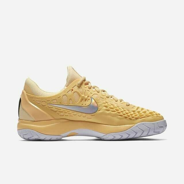 Wmns Nike Air Zoom Cage 3 HC UK 7.5 EUR 42 Tangerine Tint White Black 918199 810
