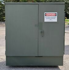 Ge 750kva Oil Transformer 12470v7200v 480v277v Delta Wye Wye Wye 500kva