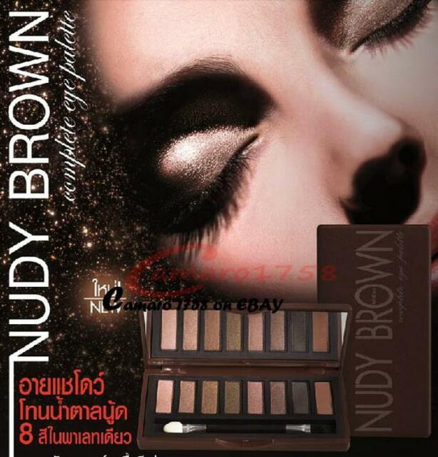 #6078Rx - Mistine Nudy Brown Complete Eye Palette with 8 Colors
