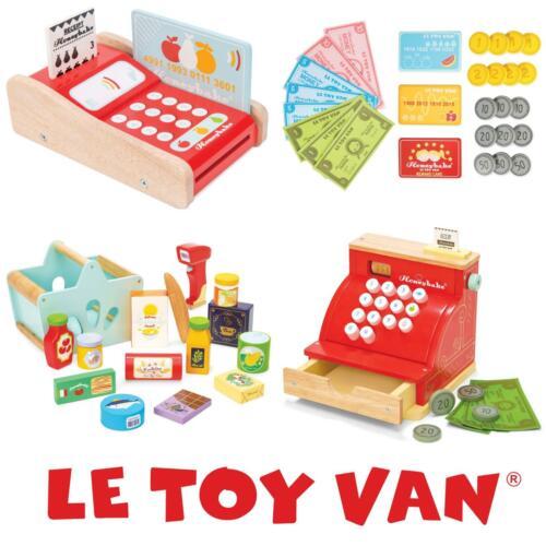 Le Toy Van Honeybake Falso Juego Madera Niños Educación Toy Compras Comestibles