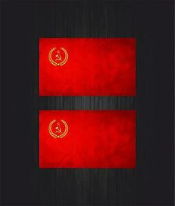 2x-Autoadesivo-automobile-bandiera-russie-stemma-urss-cccp-sovietico-russo