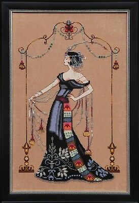 Mirabilia Designs - MD135 - At The Met Chart by Nora Corbett