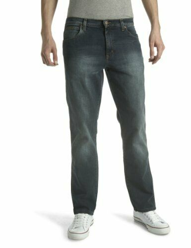 Wrangler Mens Texas Stretch Regular Fit Jeans, Vintage Tint, W42L34
