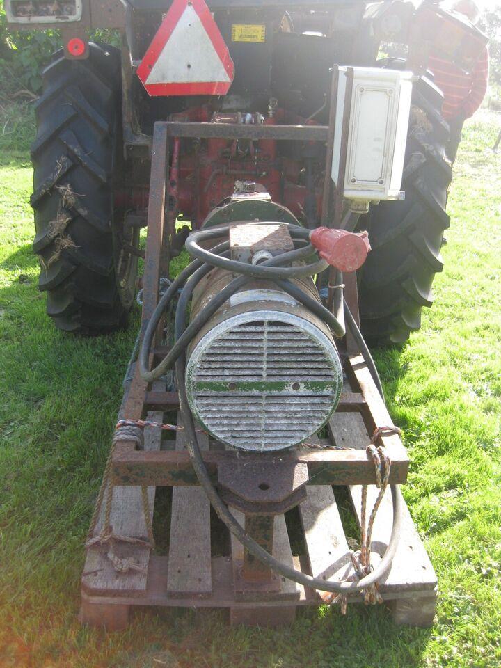Nødstrømsgenerator til traktor