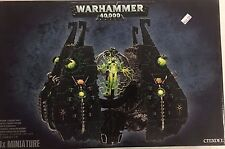 Warhammer 40K Necron TESSERACT VAULT Superheavy With C'TAN SHARD New