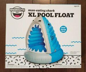 Giant Shark Xl Pool Float Inflatable Vinyl Summer Beach